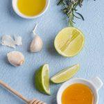 Marinade romarin, miel et citron vert