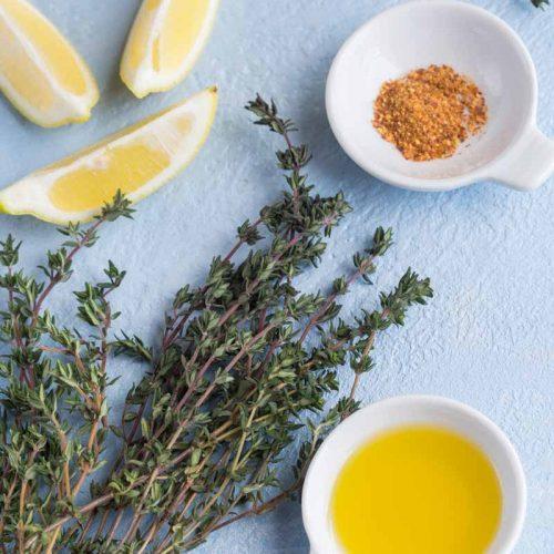 Marinade Thym et citron