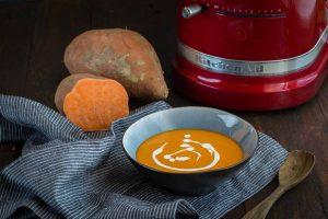 Recette de soupe de patate douce