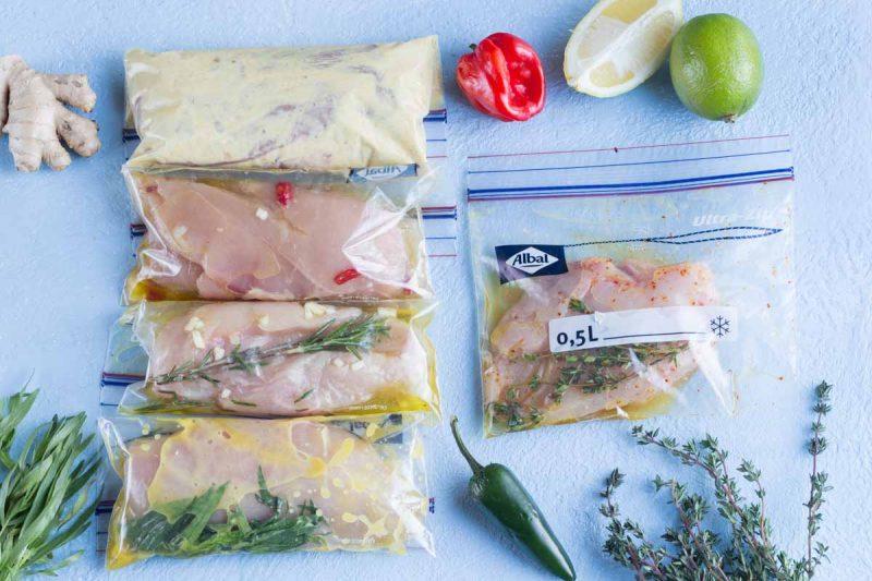 Recettes de marinades pour le poulet