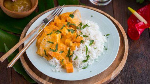Recette de curry thai