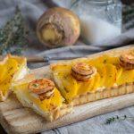 Recette de tarte rutabaga et chèvre