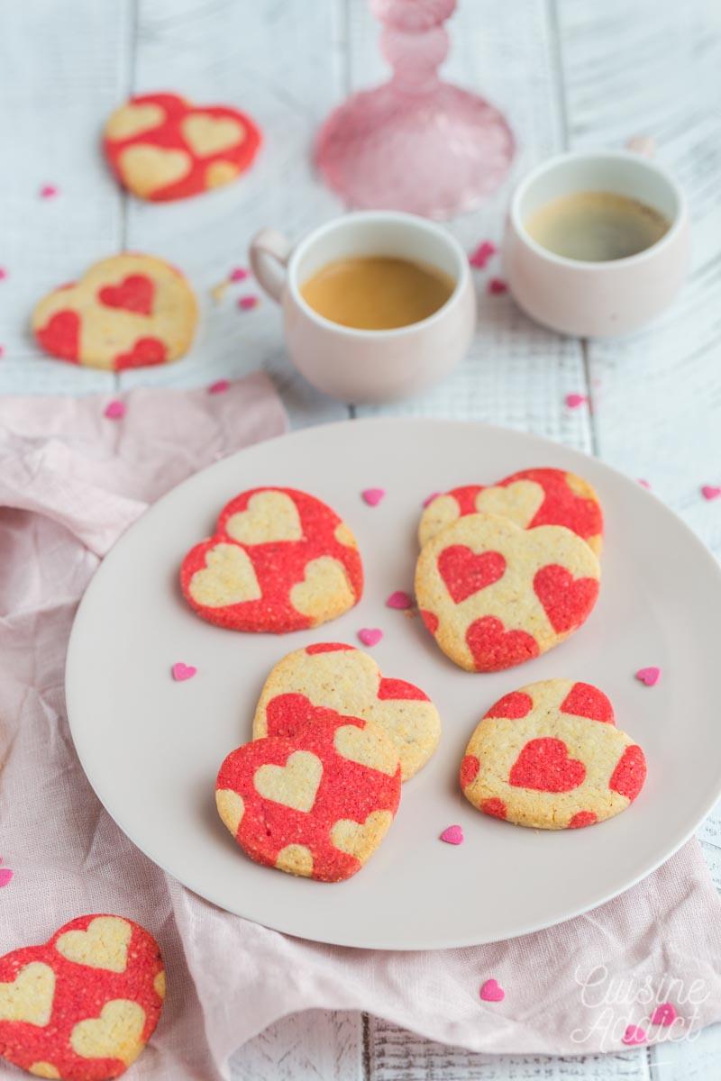 Sablés coeurs pour la St Valentin