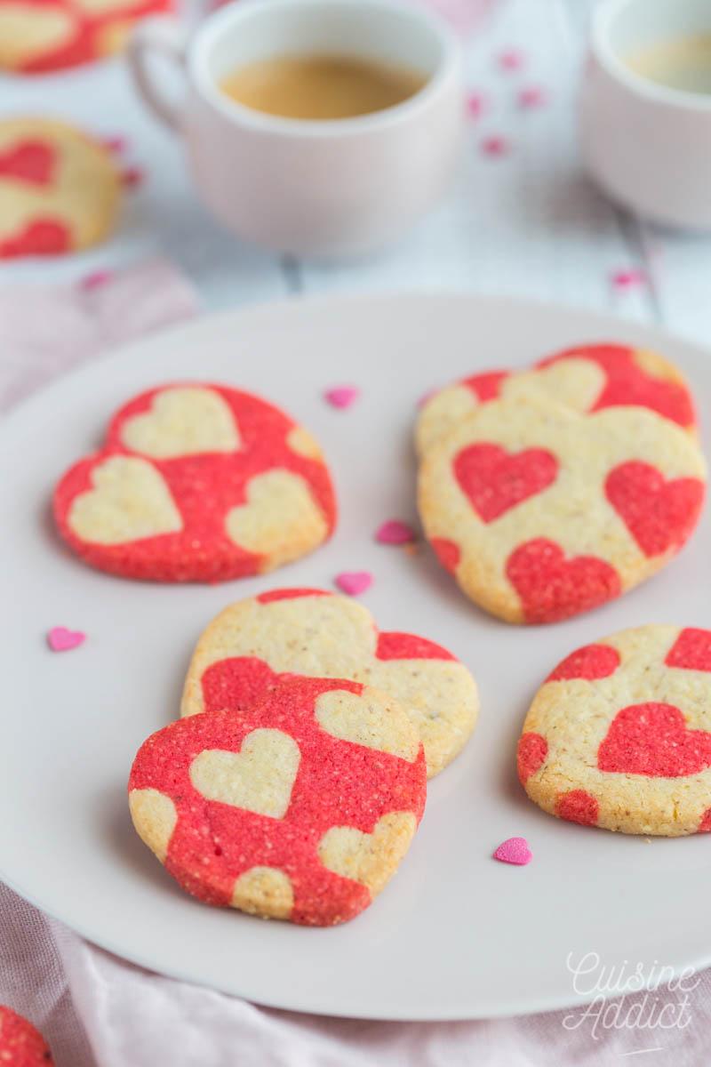 Biscuits pour la St Valentin