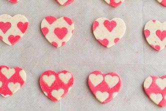 Pas-à-pas pour biscuits coeurs