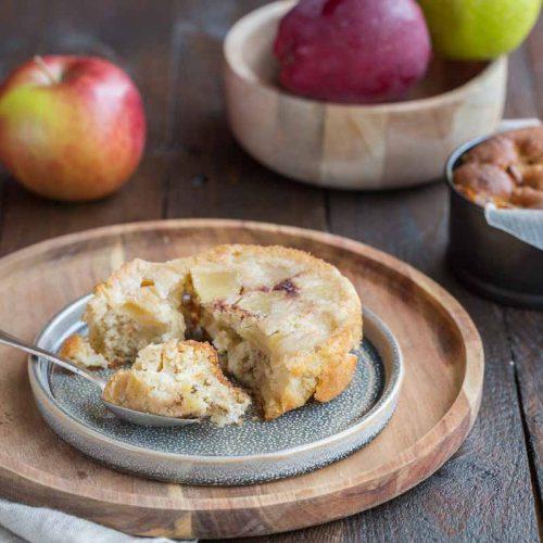 Recette de gâteau renversé aux pommes