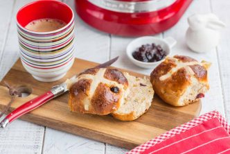 Recette de hot cross buns