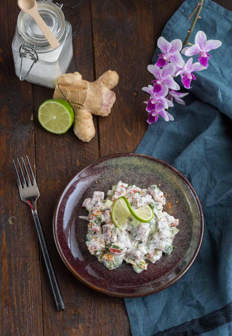 poisson à la tahitienne