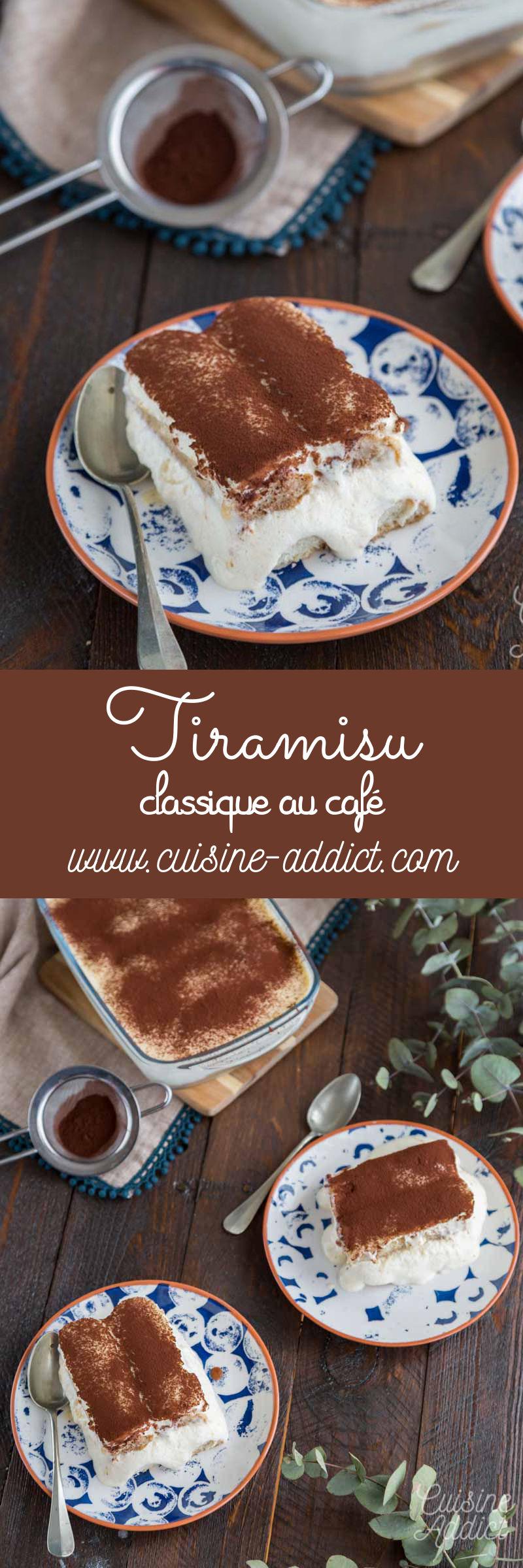 Tiramisu, la recette traditionnelle