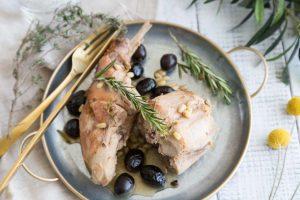 Recette de lapin à l'italienne