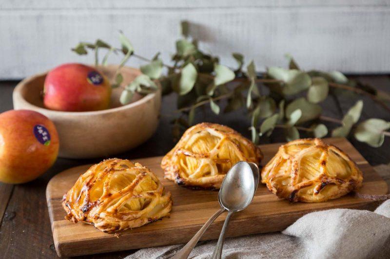 Recette de mini feuilletés aux pommes