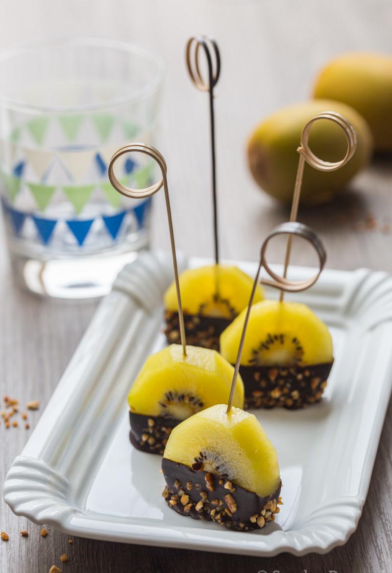 Sucettes de kiwi