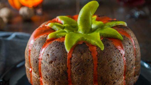 Gâteau à la carotte et à la courge