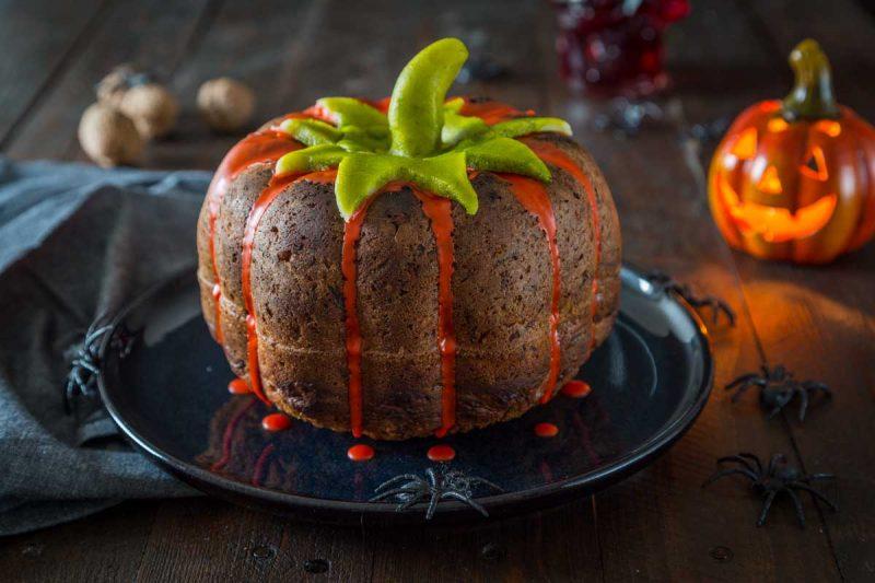 Recette carrot cake halloween