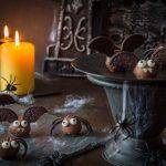 Truffes aux Oréos chauve-souris et araignée pour Halloween