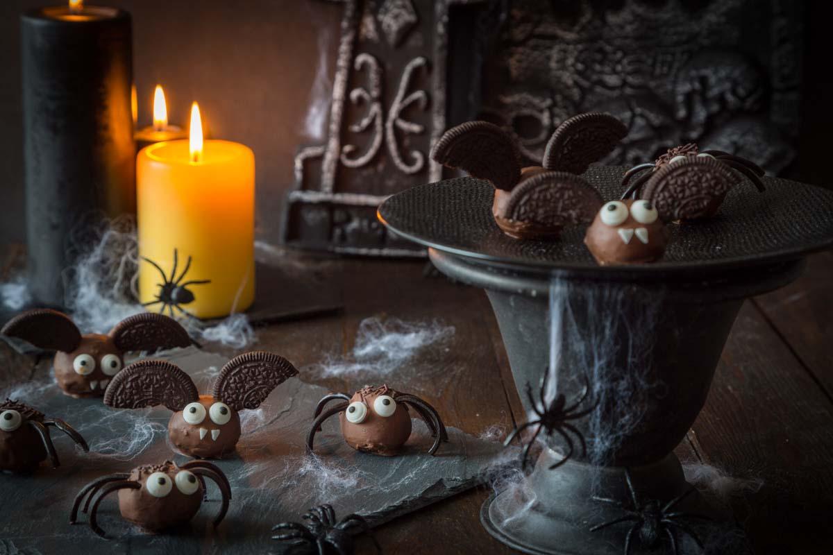 Recette de truffes halloween