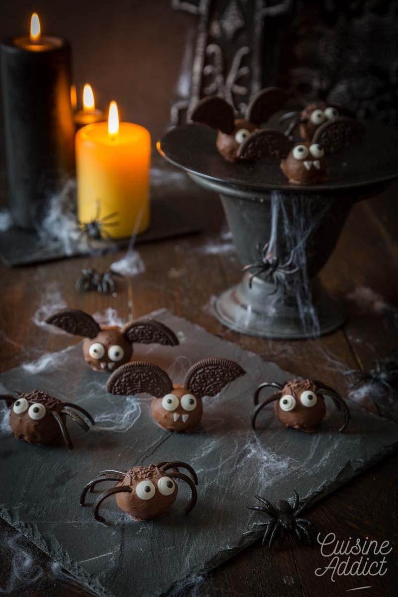 Truffes faciles pour Halloween