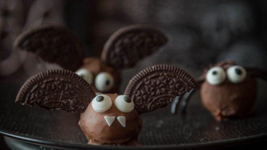 Truffes chauve-souris pour Halloween