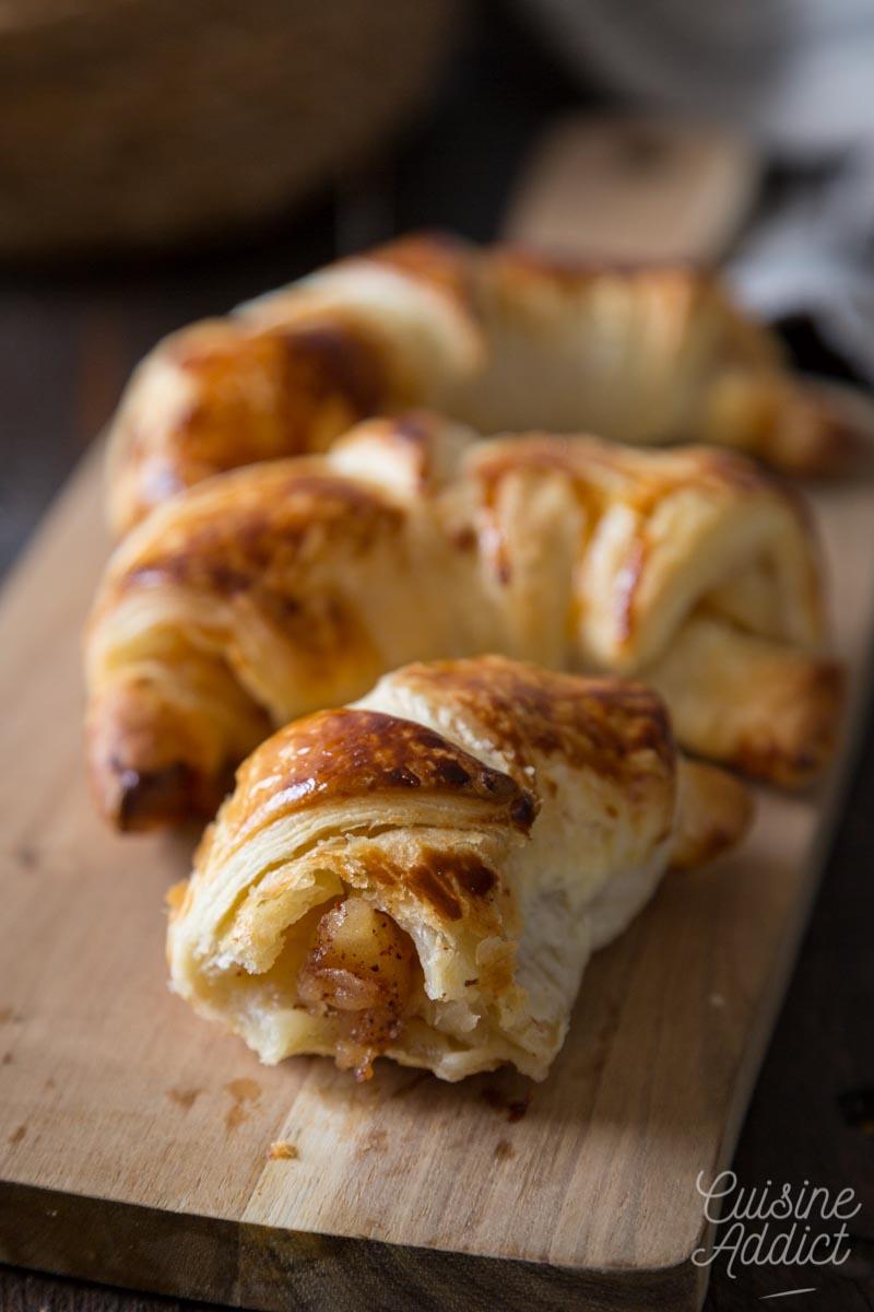 Mini-croissants aux pommes