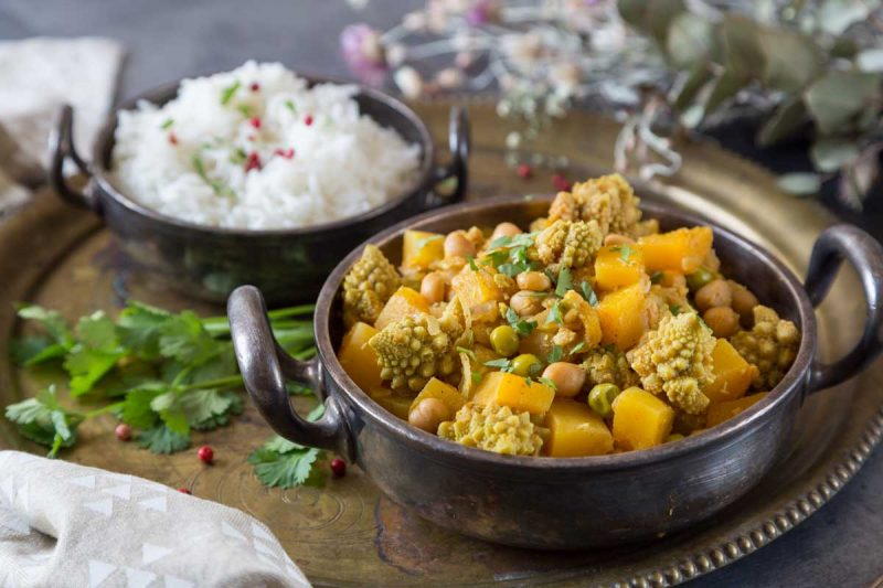Pumpkin and Chickpea Curry Recipe