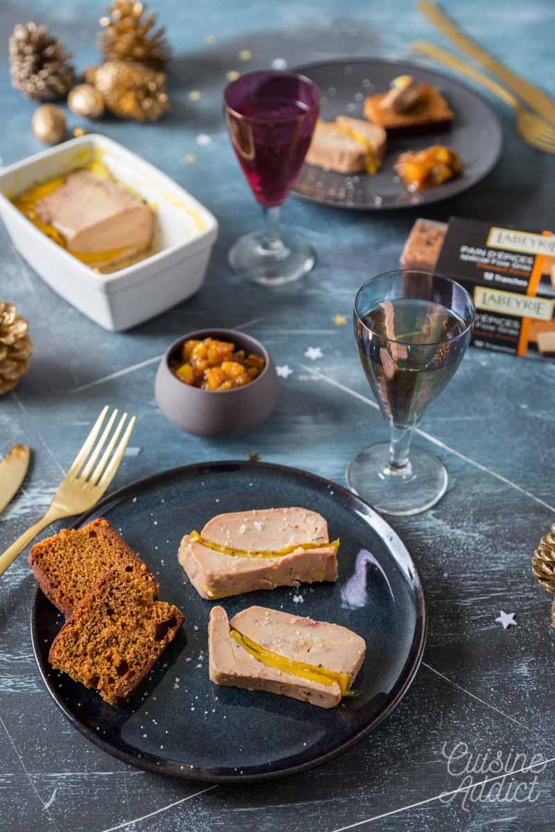 Foie gras en terrine à la mangue