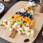 Plateau de fromage sapin pour Noël
