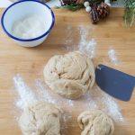 Préparation de pâte à brioche