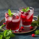 Cocktail Gin & Cranberry pour Noël