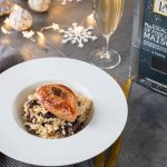 Risotto aux morilles & escalopes de foie gras poêlé