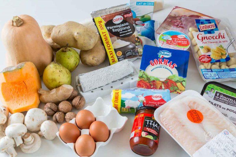 Ingrédients Batch cooking Hiver 8