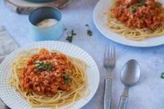 Recette de sauce bolognaise végétarienne