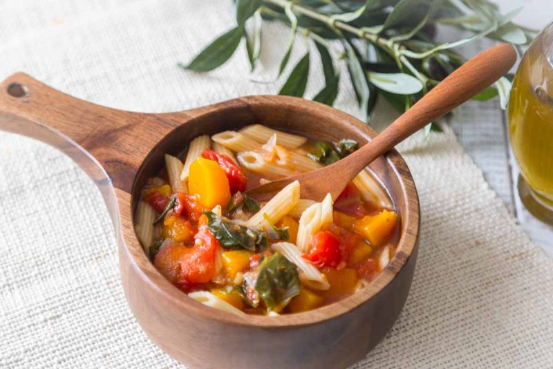 Recette de soupe minestrone