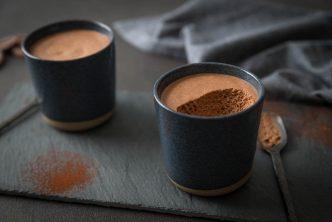 Recette de mousse au chocolat vegan
