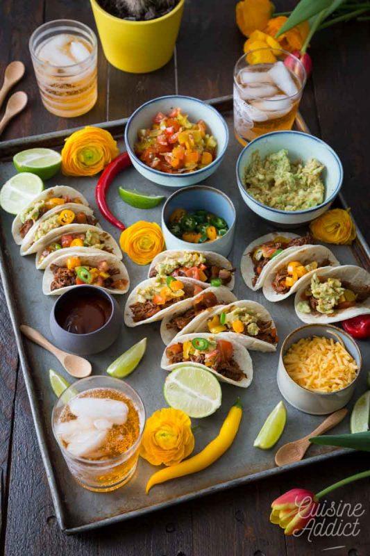 Tacos pour l'apéritif