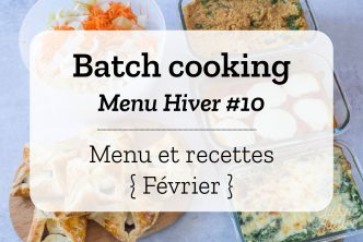 Batch cooking Hiver 10