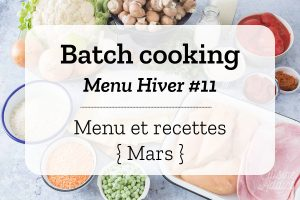 Batch cooking Hiver 11
