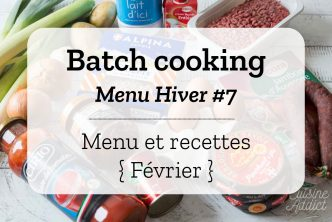 Batch cooking Hiver 7