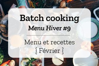 Batch cooking Hiver 9
