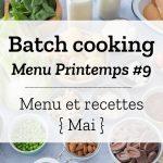 Batch cooking Printemps 9