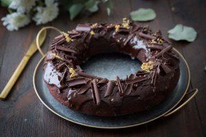 Recette de bundt cake betterave et chocolat