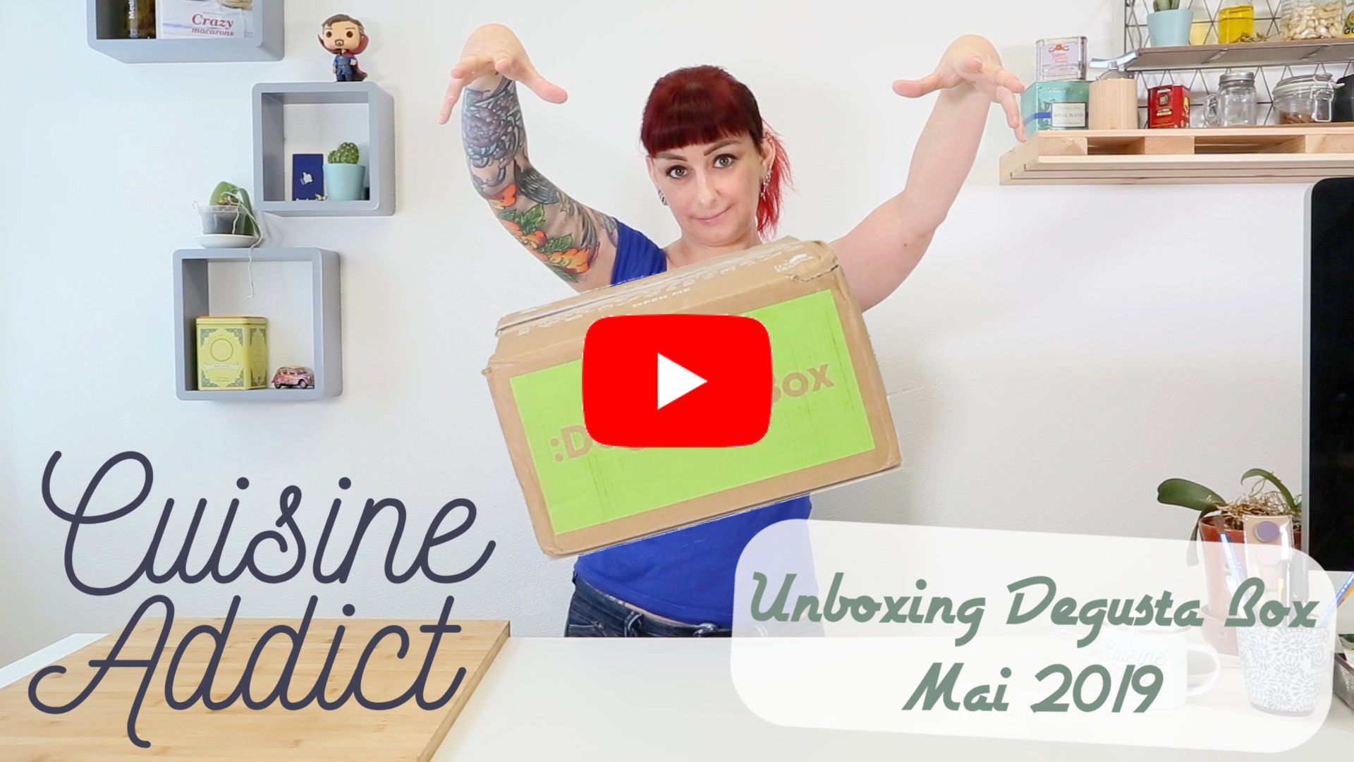 Unboxing Degusta Box Mai