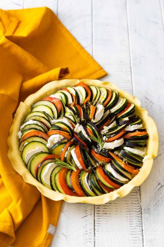 Tarte aux légumes façon tian
