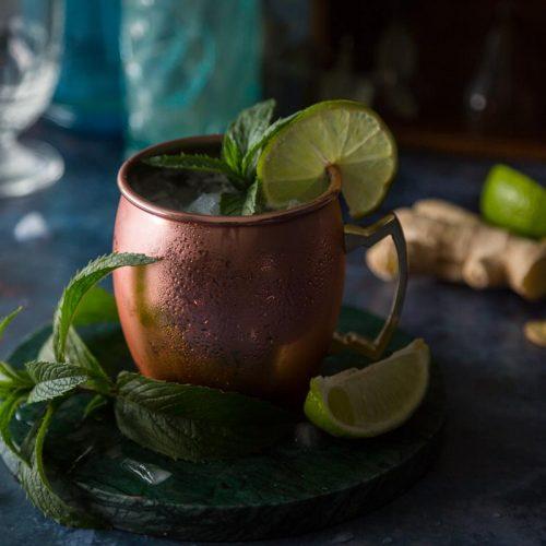 Recette du cocktail Moscow Mule