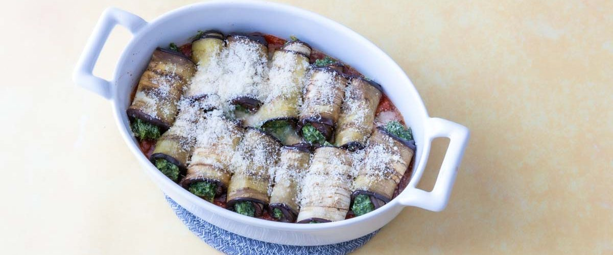 Cannellonis d'aubergine