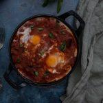 Recette de chakchouka aux aubergines et courgettes