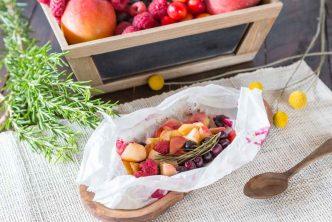 Recette de papillotes de fruits