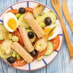 Recette de salade niçoise