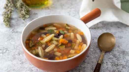 Recette de minestrone