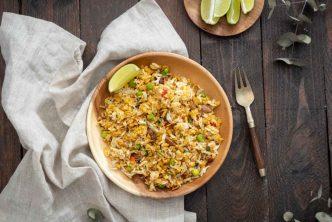 Recette de salade de riz au curry