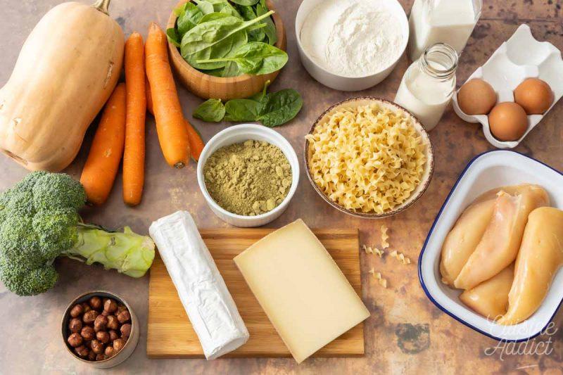 Ingrédients Batch cooking Automne 1